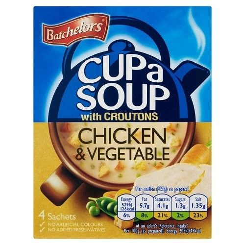 Batchelors Cup a Soup Chicken & Vegetable 115g