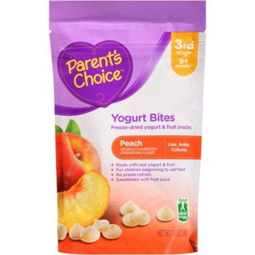 Parent's Choice Peach Yogurt Bites
