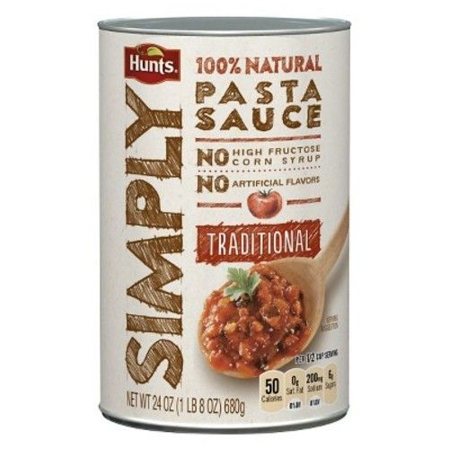 Hunts® Simply Traditional Pasta Sauce 24 oz