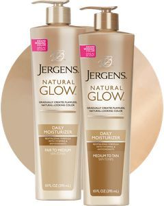 Jergens Natural Glow Daily Moisturizer Pumps