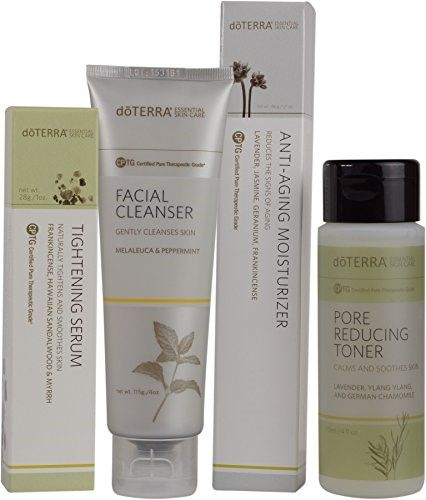 doTERRA Skin Care System with Anti-Aging Moisturizer