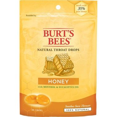 Burt's Bees Throat Drops - Honey