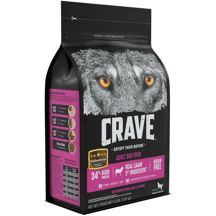 Crave™ with Protein from Lamb & Venison Premium Adult Dog Food