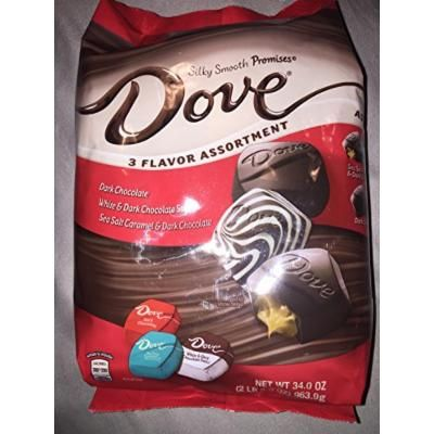 Dove Sea Salt Caramel with the new White & Dark Chocolate Swirl