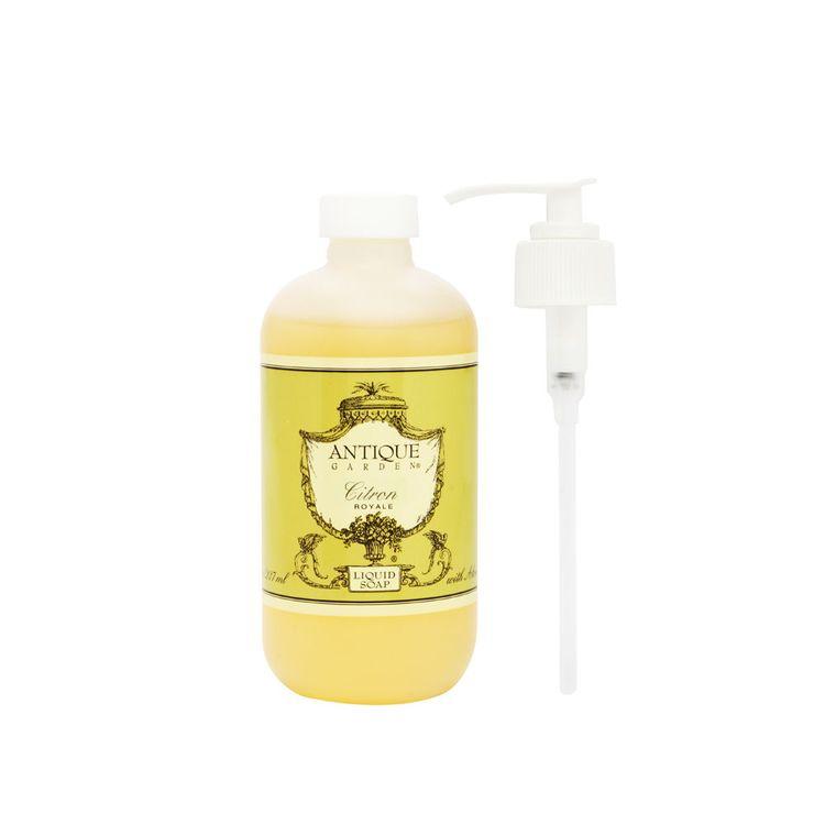 California Fleurish Antique Garden Citron 237ml/8oz Liquid Soap