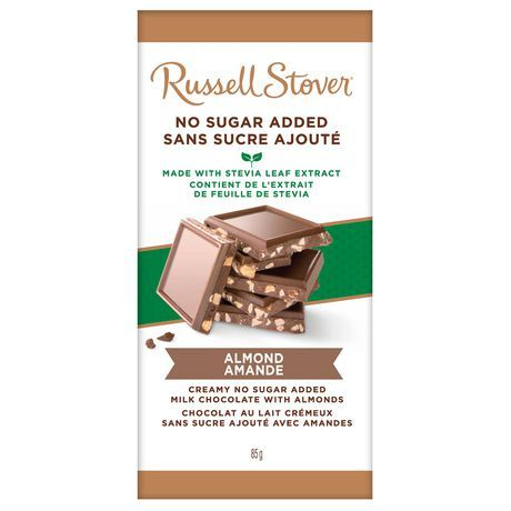 Russell Stover No Sugar Added Almond Bar