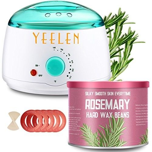 Rosemary Essential Oil Yeelen Hair Removal Waxing Kit Hot Wax