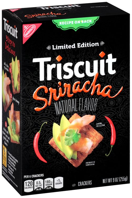 Nabisco Triscuit Sriracha Crackers