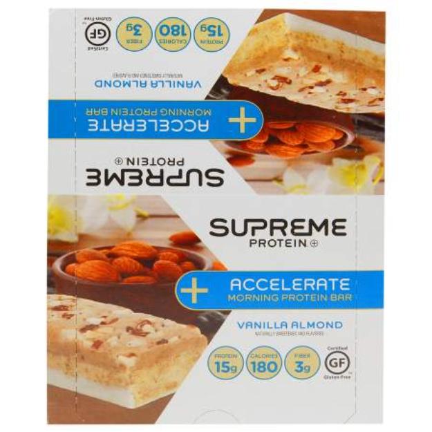 Supreme Protein Accelerate Protein Bar Vanilla Almond