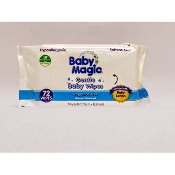 Us Nonwovens Baby Magic Gentle Unscented Baby Wipes (72-count)