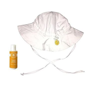 Products on the Go POTG3051 Beach Baby Sun Hat & Sunscreen