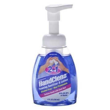 WOODWARD LABORATORIES Woodward's HandClens 2-In-1 Foaming Sanitizer & Lotion 236ml/8oz