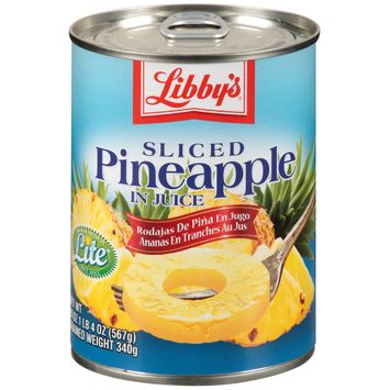 Libby's® Sliced Pineapple in Juice