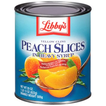 Libby's® Yellow Cling Peach Slices in Heavy Syrup