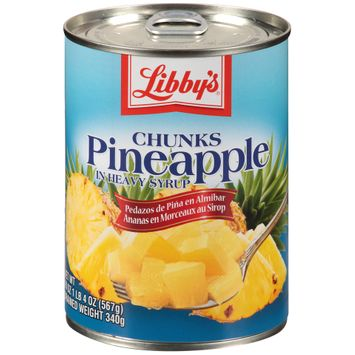Libby's® Pineapple Chunks in Heavy Syrup
