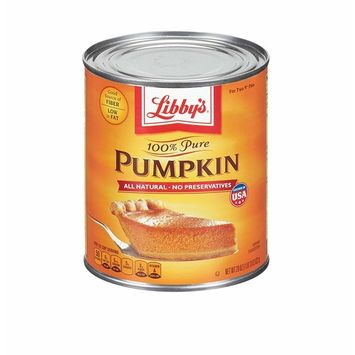 Libbys 100% Pure Pumpkin, 29-Ounce Cans (Case of 24)
