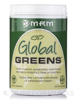 Mrm Metabolic Response Modifiers Global Greens MRM (Metabolic Response Modifiers) 8 oz (225G) Powder