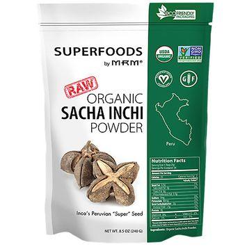 Mrm Metabolic Response Modifiers Super Foods - Raw Organic Sacha Inchi Powder MRM (Metabolic Response Modifiers)