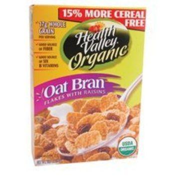 Health Valley Nat Foods Health Valley, Cereal Flake Oat Br Rsn O, 13.8 OZ (Pack of 6) ( Value Bulk Multi-pack)