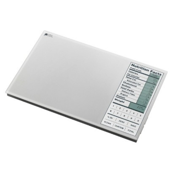 Perfect Portions Digital Food Scale - Silver