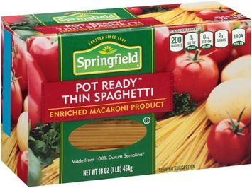 Springfield® Pot Ready™ Thin Spaghetti
