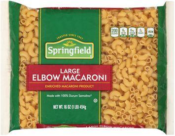 springfield® large elbow macaroni