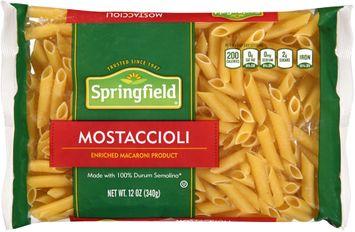 springfield® mostaccioli