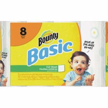 Procter and Gamble 8roll Basic Paper Towel 74589