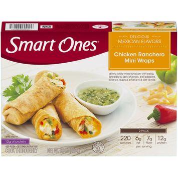 Smart Ones Delicious Mexican Flavors Chicken Ranchero Mini Wraps