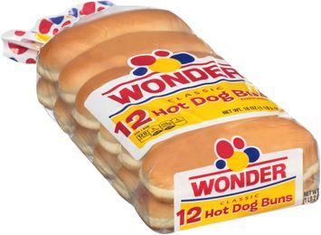 Wonder® Classic 12 Hot Dog Buns