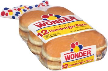 Wonder® Classic 12 Hamburger Buns