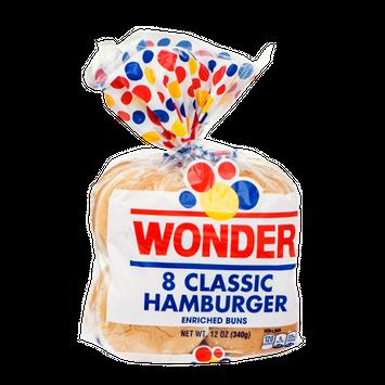 Wonder Classic Hamburger Buns - 8 CT