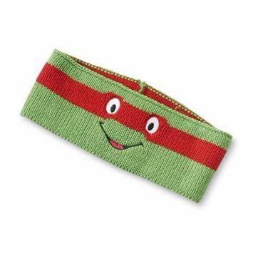TMNT Boy's Knit Headband/Earmuffs (Raphael)