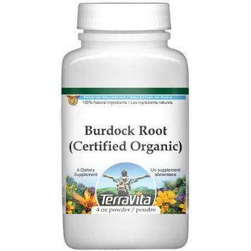 Burdock Root (Certified Organic) Powder (4 oz, ZIN: 517585)