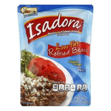 Isadora Bean Refried Low Fat 15.2 Oz Case Pack Of 8