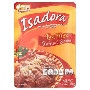 Isadora Bean Refried Tex Mx 15.2 Oz Case Pack Of 8