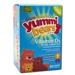 Hero Nutritionals 50099 Yummi Bears Vitamin D3