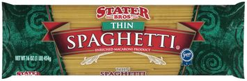 Stater bros Thin Spaghetti Enriched Macaroni Product