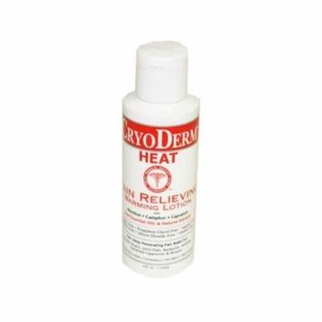 Cryoderm Heat 4oz Lotion