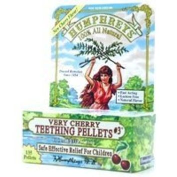 Humphreys Teething Pellets #3 Very Cherry 135 Pellets