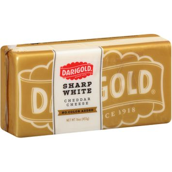 Darigold® Sharp White Cheddar No Color Added Cheese