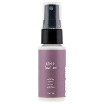 Sheer Texture Detangle Defrizz Soften And Shine - 1 oz