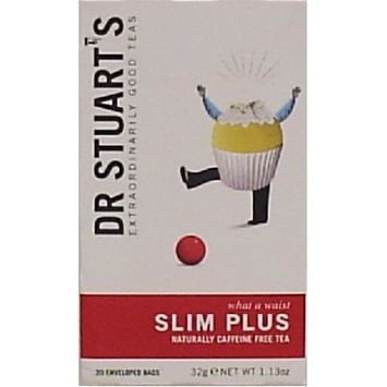 Dr. Stuart's Herbal Teas Slim Plus -- 15 Tea Bags Each / Pack of 2