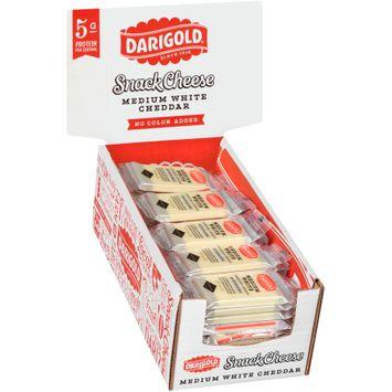 darigold® medium white cheddar no color added snack cheese 5