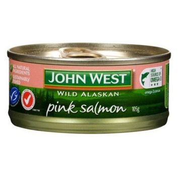John West Pink Salmon 105g