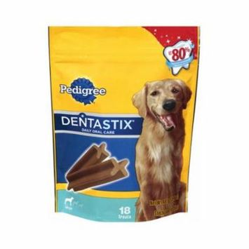 Mars Petcare Us 10162397 Dog Treats, Dentastix, For Large Dogs, 18-Ct.