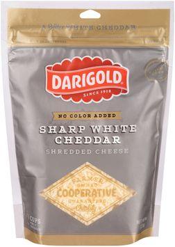 darigold® sharp white cheddar shredded cheese