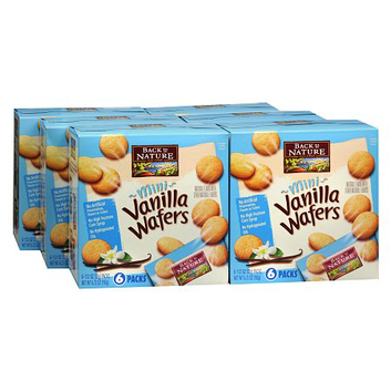Back to Nature Mini Wafers 6 Pack