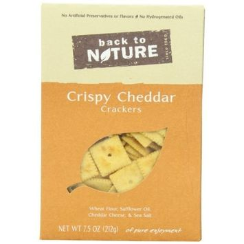 Back To Nature Crispy Cheddars Crackers