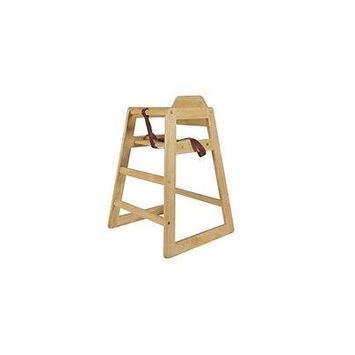 Wood High Chair-natural